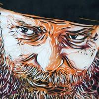 с215 Christian Guémy street art mural painting уличное искусство граффити