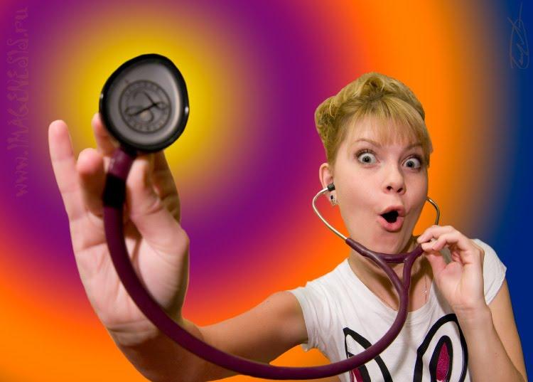 mood doctor portrait with stethoscope доктор настроения со стетоскопом автор демидов Игорь