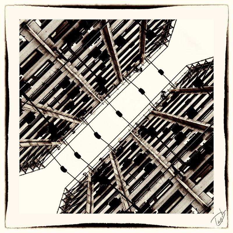 металлоконструкции кондиционеры железобетон высокие стены урбанизм автор Демидов Игорь high walls metal structures urbanism