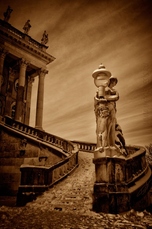 Pompeii sky last days architecture небо Помпеии по мотивам картины Брюллова автор Демидов Игорь