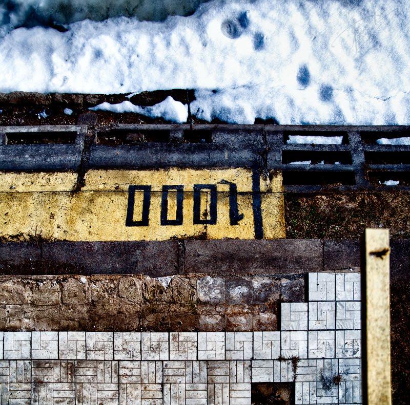 1000 композиционное фото минимализм текстуры плитка краска снег бетон автор Демидов Игорь Вячеславович minimalism photo 100 meters mark