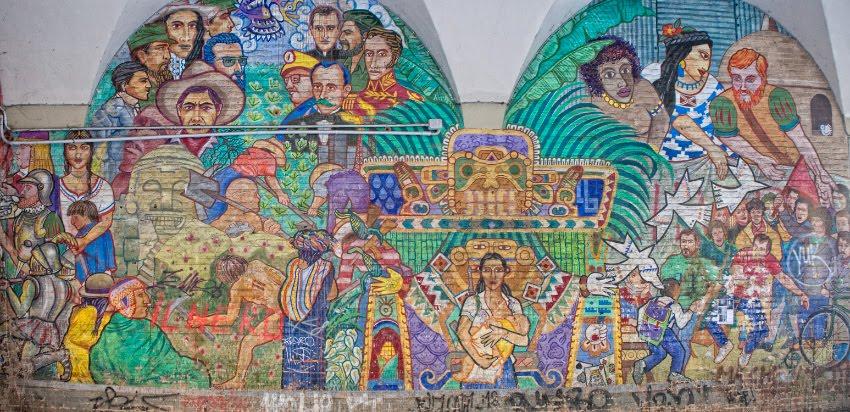 graffiti street art mural painting south america concure уличное искусство настенная живопись покорение южной америки автор фото демидов Игорь