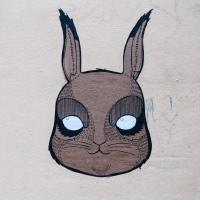 Zurich rabbit street art graffity графити Цюрих кролик уличное искусство