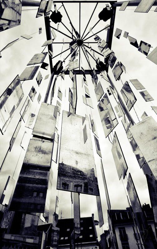 зеркала Рига отражения города небо автор Демидов Игорь many small mirrors Riga reflections