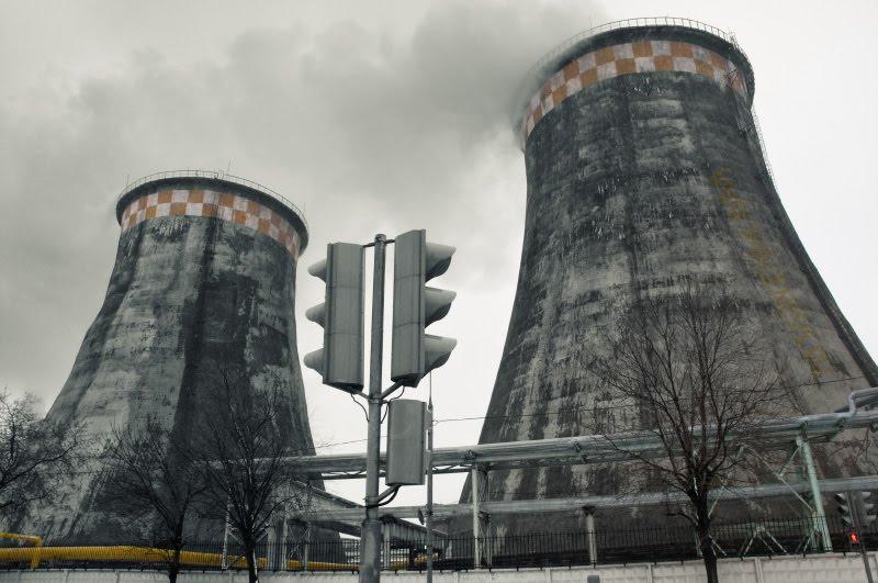 twins industrial близнецы труба индустриальный вид Демидов Игорь