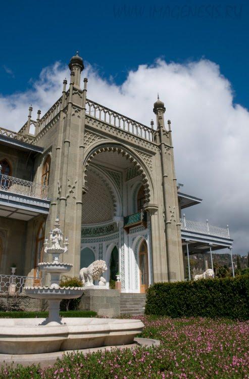 Воронцовский дворец в Алупке Ялта Демидов Игорь