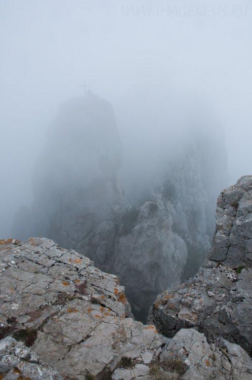 cloud mist rocks скады горы туман облако Демидов Игорь