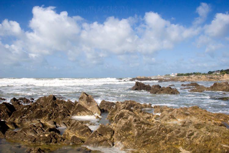 waves sun foam ocean rocks камни волны пена солнце океан автор Демидов Игорь