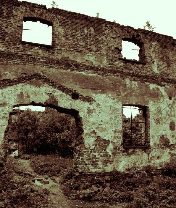 path trought ruins путь сквозь руины в Выборге автор Демидов Игорь