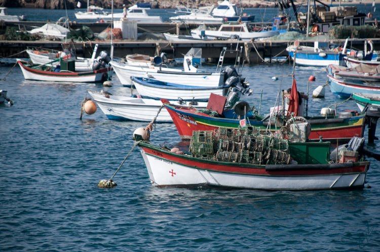boat with tackle лодка с рыболовными снастями порт автор Демидов Игорь