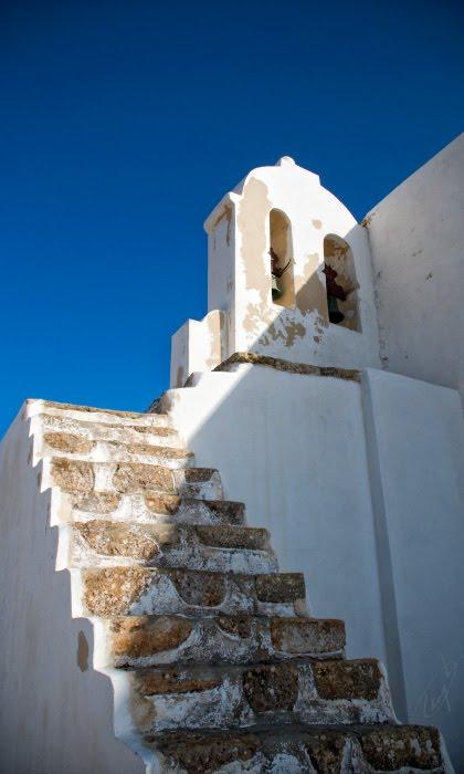 Sagres cape bell-tower ladder steps лестница к колокольне на мысе Сагреш автор Демидов Игорь
