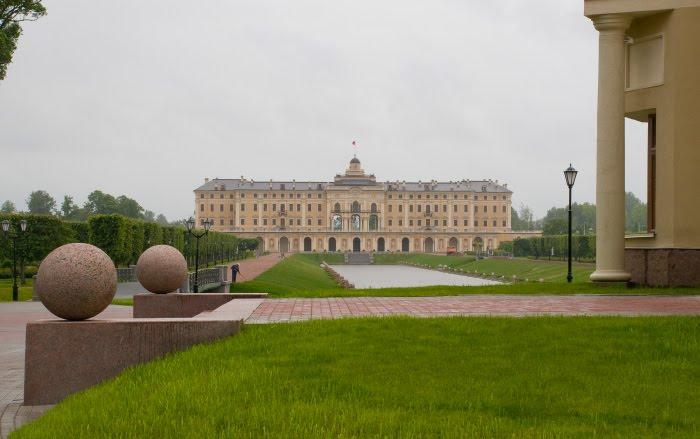Strelna palace park Константиновский дворец в Стрельне автор Демидов Игорь